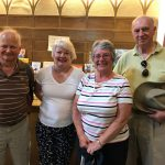 Former Rector visits Church